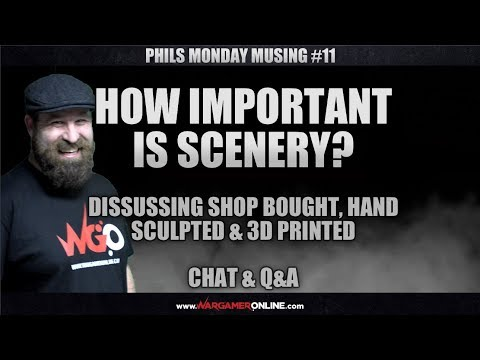 Monday Musing #11 How Important is Scenery?, Chat and Q&A