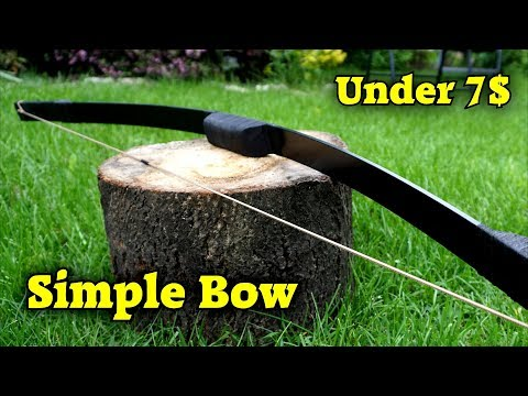 Making a Simple and Cheap Bow
