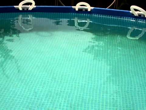 Dirty Rain Grows Swimming Pool Algae Youtube