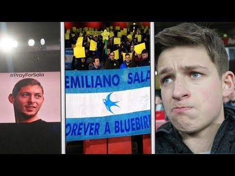 A Beautiful Tribute To Emiliano Sala 🇦🇷 | Arsenal Vs Cardiff Vlog