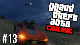 GTA 5 Online #13 - Wanted (Grand Theft Auto Online Free Roam PC Gameplay)
