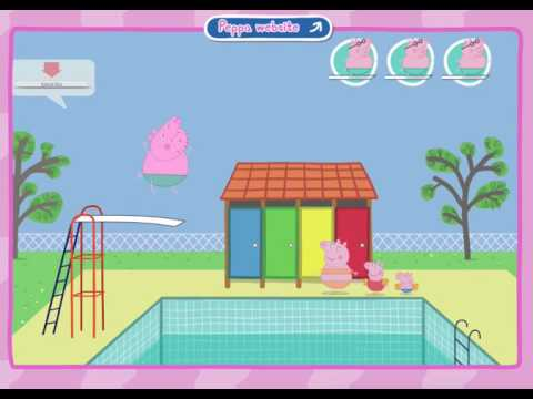Peppa Pig Diving Game - Peppa Pig Web Site - Game Play For Kids