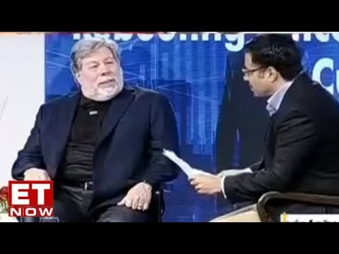 Steve Wozniak In An Exclusive Interview With ET NOW I Exclusive