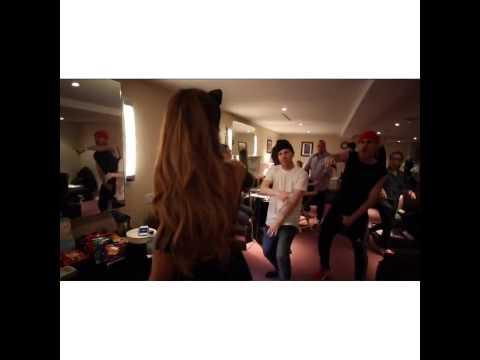 Ariana Grande Singing and Rapping Bang Bang