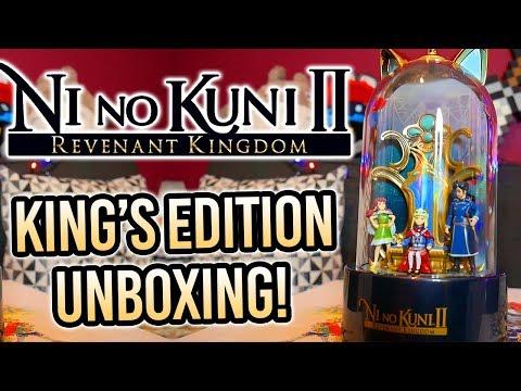Unboxing Ni No Kuni II: Revenant Kingdom - King's Edition