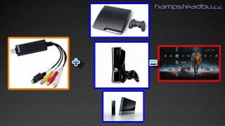 How to setup and record EasyCap (For PS3 or Xbox 360)