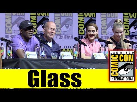 GLASS   Comic Con 2018 Full Panel (Samuel L. Jackson, Bruce Willis, Sarah Paulson)