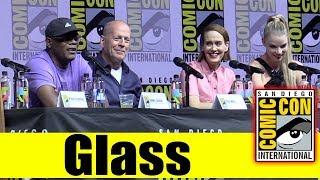 GLASS | Comic Con 2018 Full Panel (Samuel L. Jackson, Bruce Willis, Sarah Paulson)