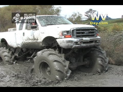 Mega Trucks Mud Bogging 1 King Knob Off Road Park