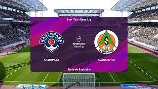 PES 2020   Kasimpasa vs Alanyaspor - Turkey Cup   22/01/2020   1080p 60FPS