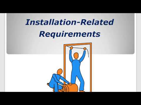 BPI BA vs. BPI-1200 - Lesson #3 - Installation-Related Requirements