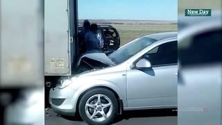 Смотреть видео Массовое ДТП произошло на трассе Волгоград-Москва. Есть пострадавшие онлайн