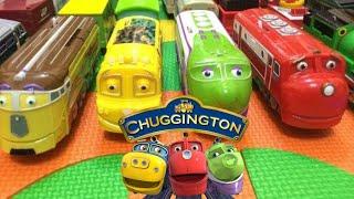 【プラレール】英語子どもの歌と14チャギントンの列車 Itsy Bitsy Spide...