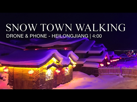 Heilongjiang - Walking in the snow village