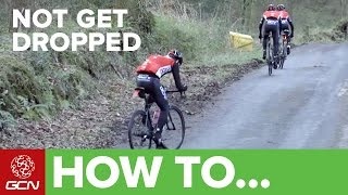 How To Not Get Dropped | GCN's Road Cycling Tips
