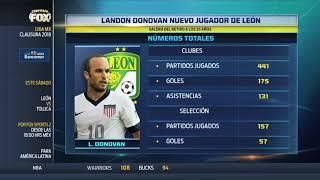 """Landon Donovan ya es """"Esmeralda"""""""