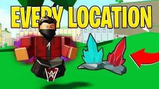 [POWER SIMULATOR] EVERY SINGLE *NEW* SHARD LOCATION AND MORE!! (ROBLOX)