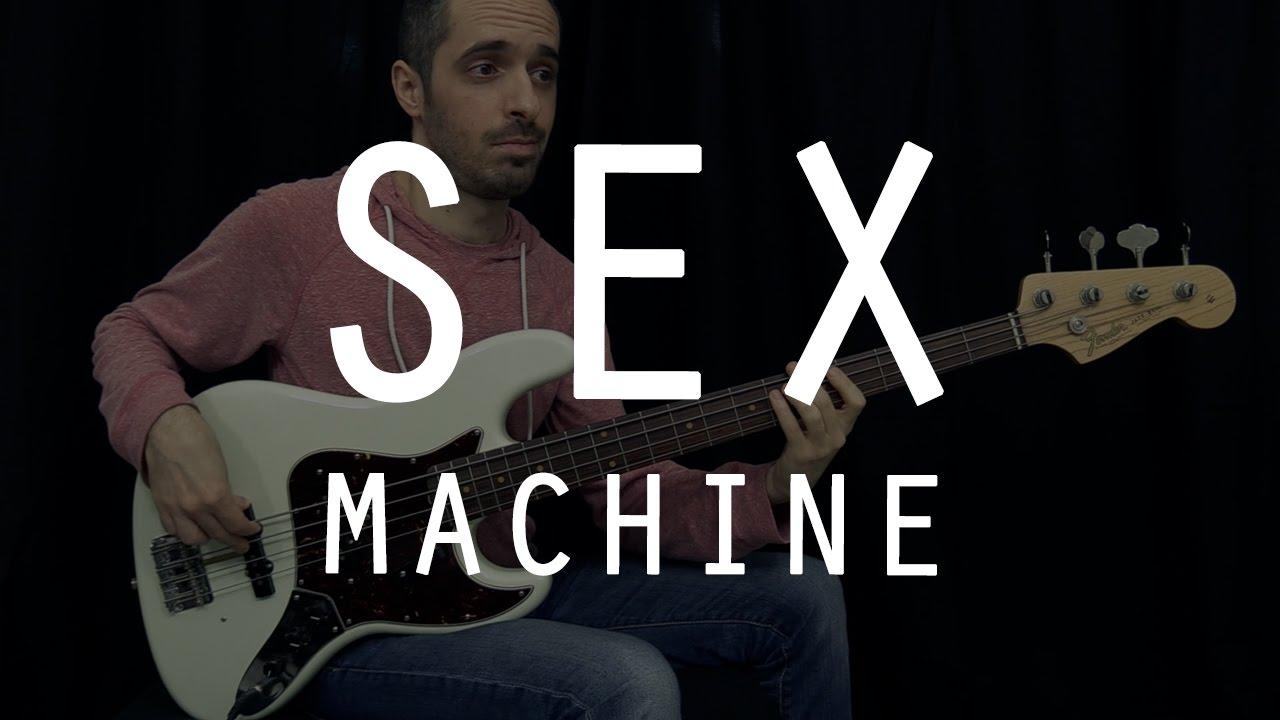 SEX MACHINE - James Brown - Bass Cover /// Bruno Tauzin
