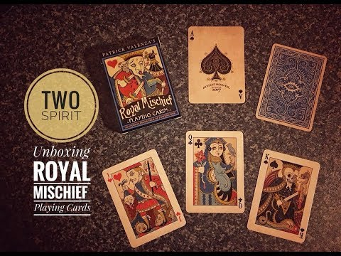 Unboxing Deviant Moon's Royal Mischief Playing Cards