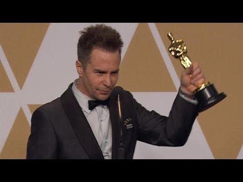 Oscars 2018: Sam Rockwell Backstage FULL PRESS CONFERENCE