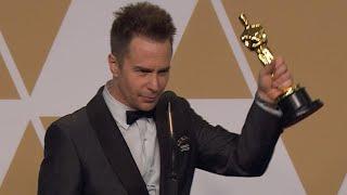 Oscars 2018: Sam Rockwell Backstage (FULL PRESS CONFERENCE)