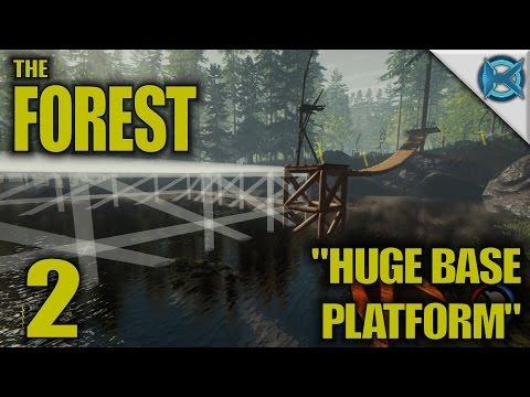 """the-forest--ep.-2--""""huge-base-platform""""--gameplay-/-let's-play--alpha-0.29-(s10)"""