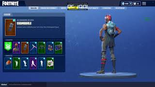 how to remove her bag has back or his skin on fortnite battle royal