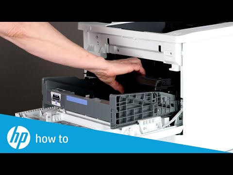 How to Replace Toner Cartridge HP LaserJet Enterprise M607