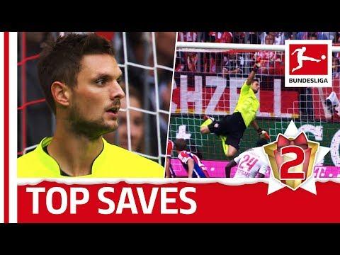 Sven ulreich - top 5 saves - bundesliga 2017 advent calendar 2