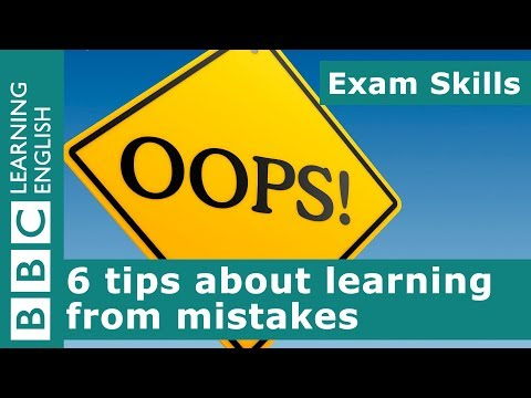 Exam skills: 6 tips about learning from mistakes