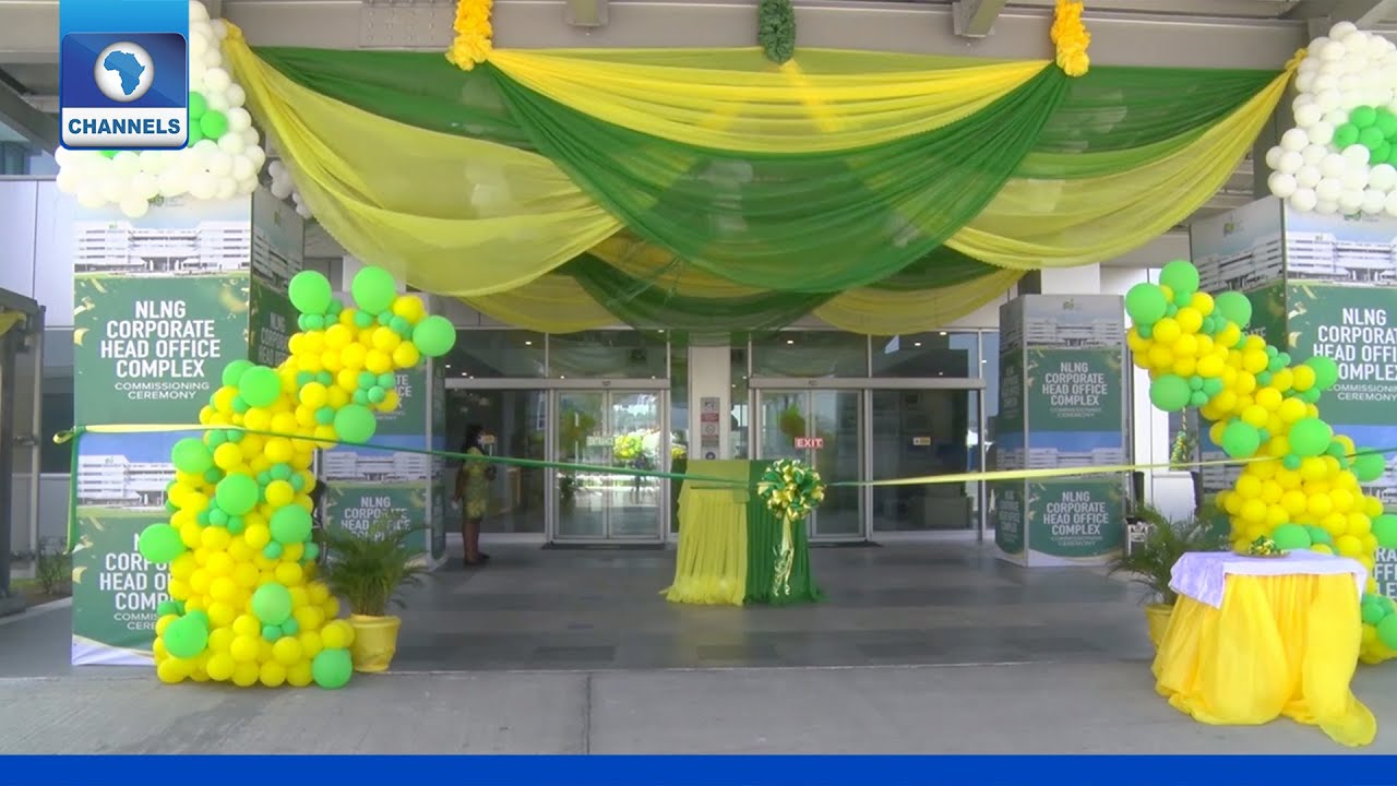 Download NLNG Opens Corporate Head Office In Port Harcourt