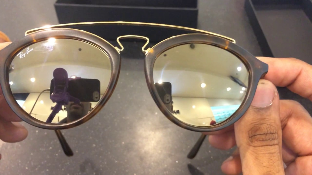 e86effc40d1 RayBan Gatsby Review Unboxing - YouTube