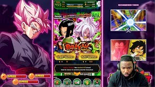 LET'S GET BAE! ANDROID 17 & 21 SUMMONS! | Dragon Ball Z Dokkan Battle