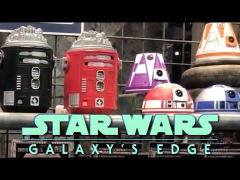 Star Wars: Galaxy's Edge - New Droid Depot Merchandise Revealed