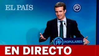 DIRECTO | Pablo Casado clausura un acto del PP en Roquetas de Mar