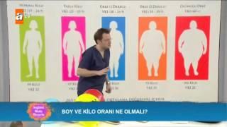 Boy ve kilo oranı ne olmalı? - Sağlıklı Mutlu Huzurlu 106. Bölüm - atv