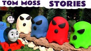 Thomas and Friends Spooky Ghosts Tom Moss The Prank Engine Toy Train Pranks for kids TT4U