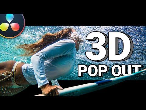 INSANE 3D Pop Out Effect - A Davinci Resolve Tutorial