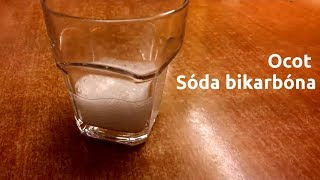 Pokusy z fyziky a chémie – Ocot a sóda bikarbóna