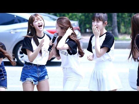 160618 오마이걸 (Oh My Girl) 효정 (HyoJung) - 아린 생일 축하 랩 (Rap) - 음악중심 미니팬미팅 (Mini Fan Meeting)