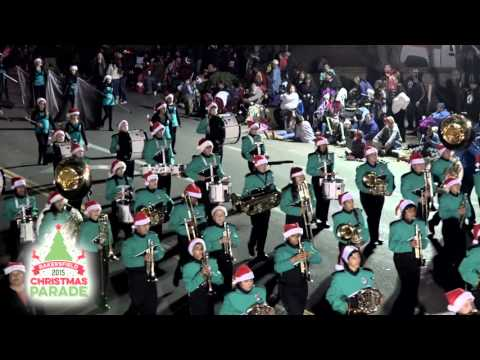 Walter Stiern Middle School Marching Band - 2015 Bakersfield Christmas Parade