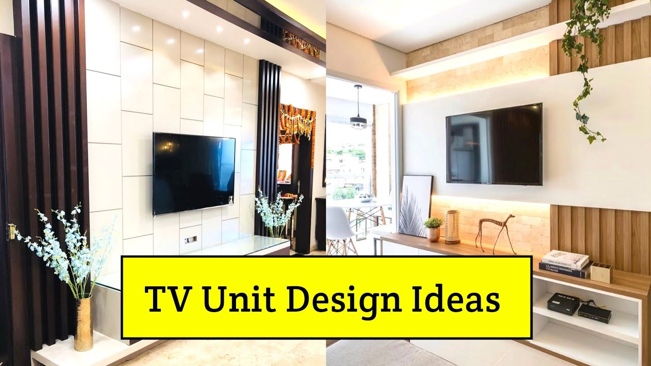 50 Best Tv Unit Design For Living Room 2021 Modern Tv Cabinet Design Ideas Interiorindori Youtube