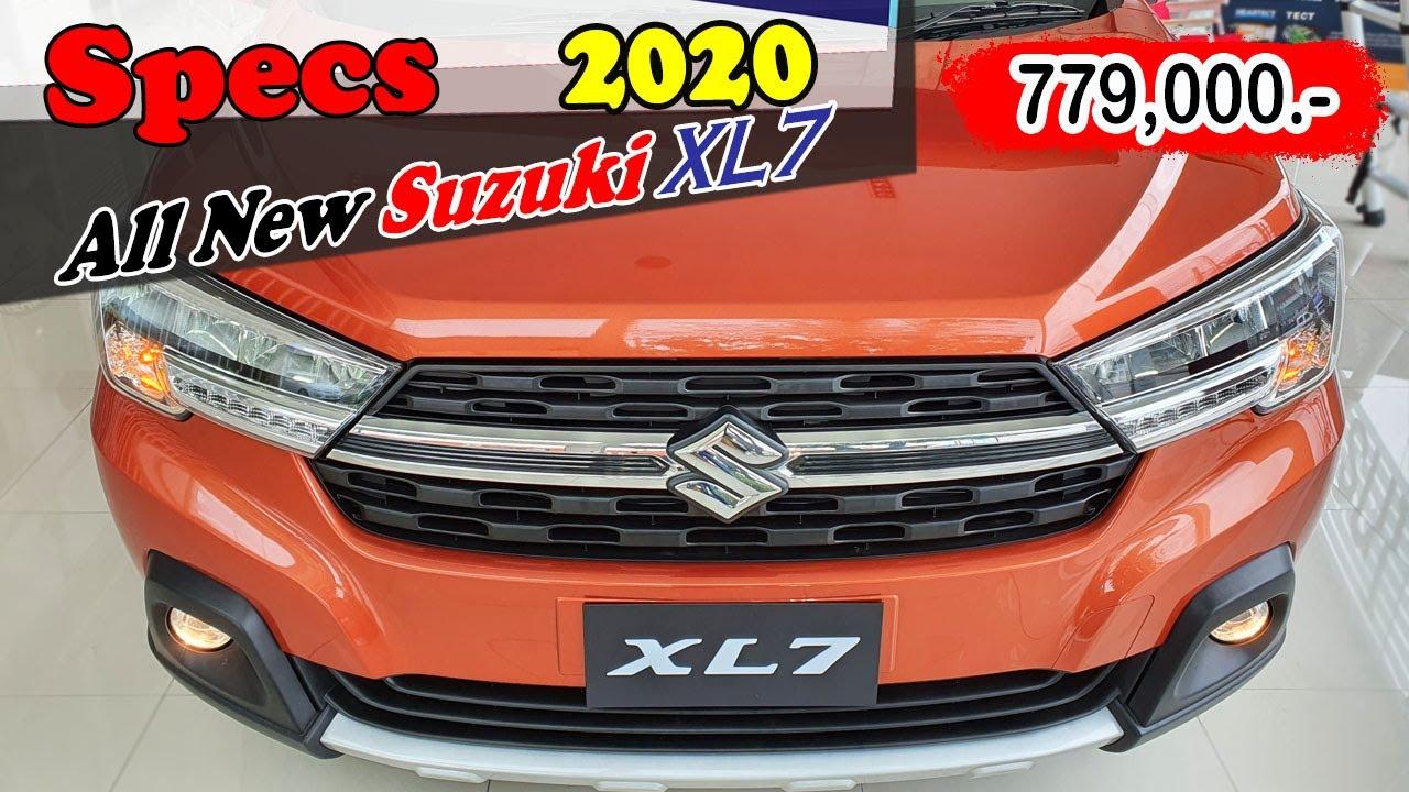 Specs All New Suzuki XL7 2020 รายละเอียด ซูซูกิ XL7 MINI MPV 7 ที่นั่ง