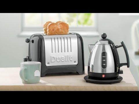 Black Dualit 1 Litre Jug kettle