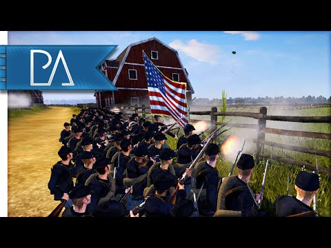 GETTYSBURG: LITTLE ROUND TOP - North & South: American Civil War Mod Gameplay