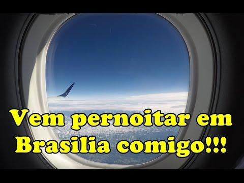 Pernoite em Brasilia! Vem comigo!