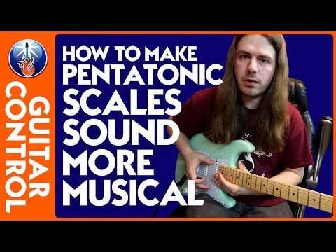 How to Make Pentatonic Scales Sound More Musical - Lead Guitar Lesson on Pentatonic Licks