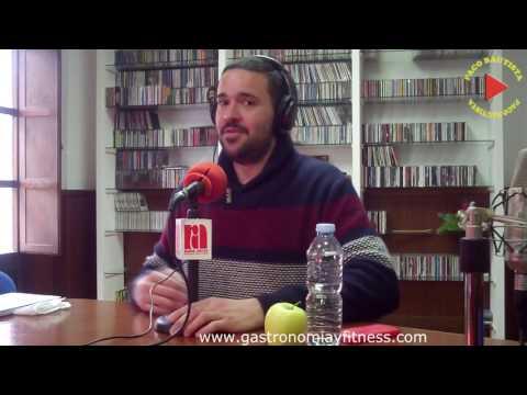 2017-02-27 RADIO ARCOS - COMER SANO CON ALFONSO RODRIGUEZ