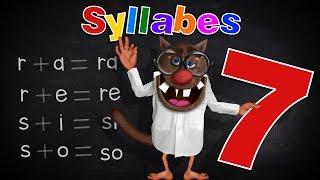 Foufou - Les Syllabes pour les enfants (Learn Syllables for kids) (Serie07) 4K