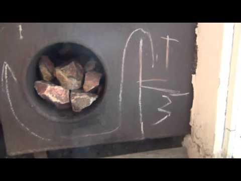 ДАЧА  Баня построенная своими руками из подручных материалов